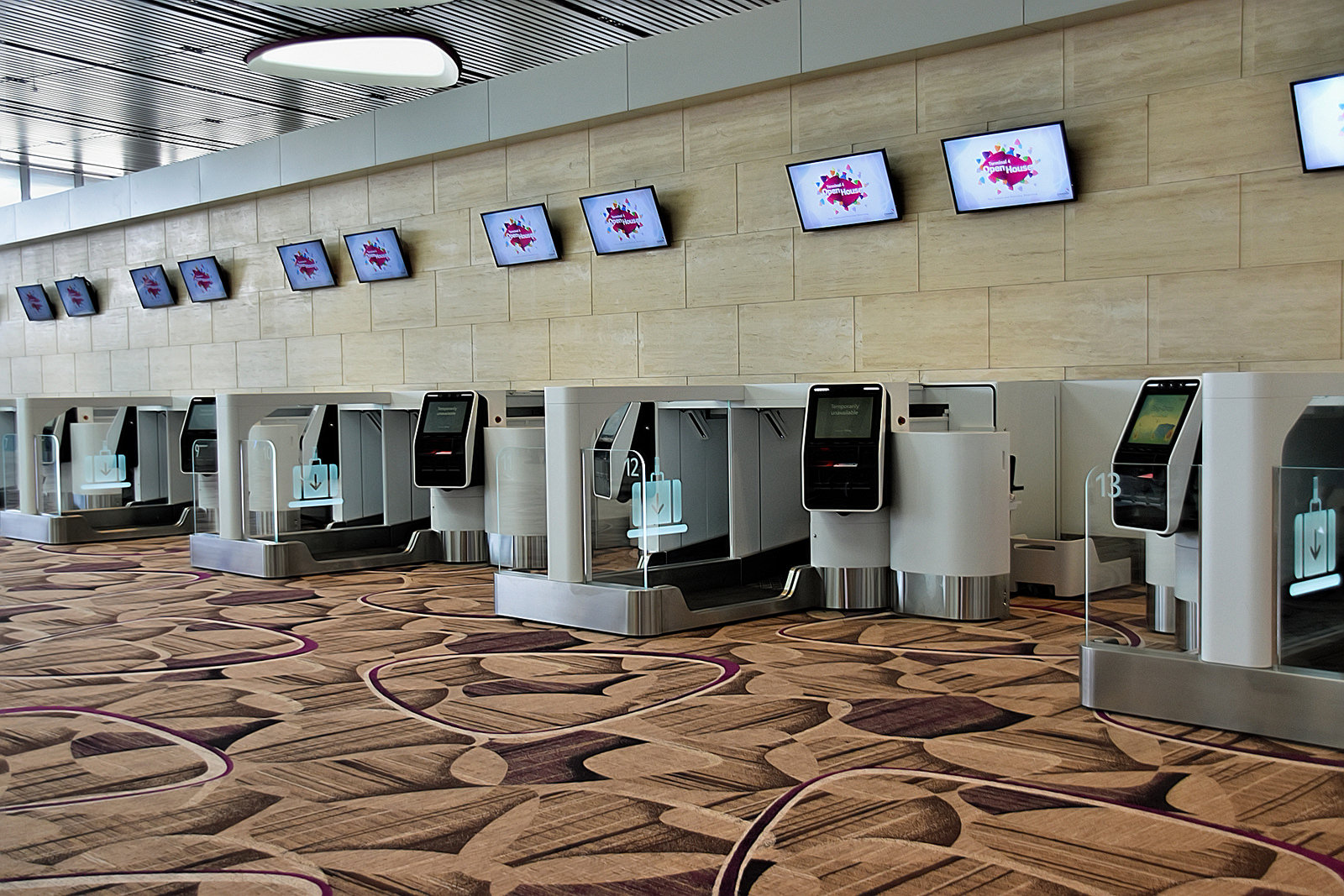 Changi Airport - Self Services