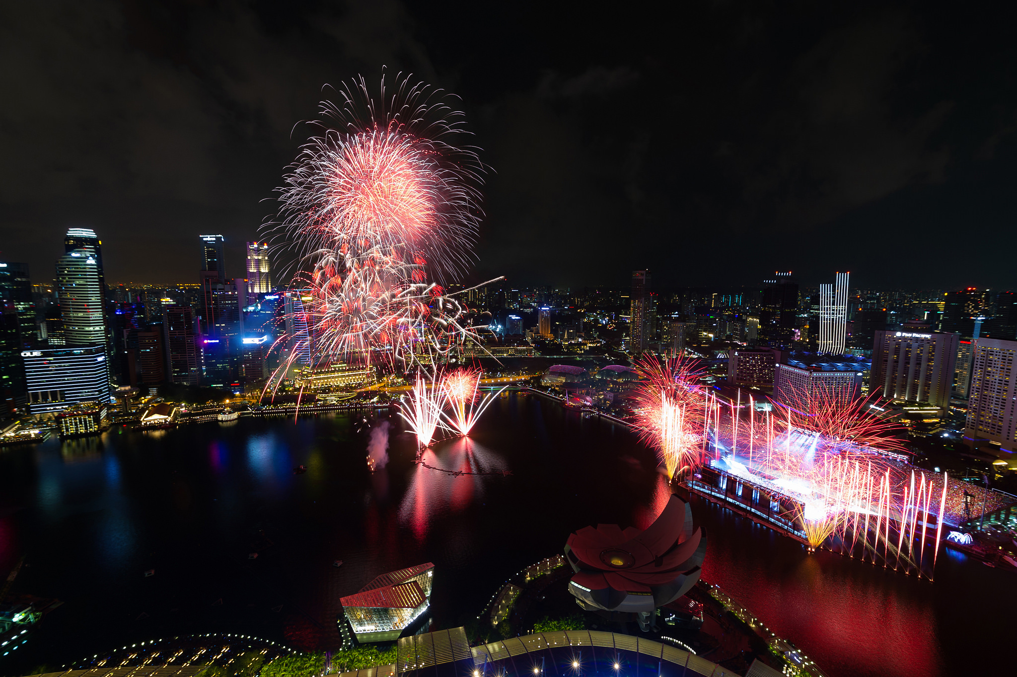 Singapore's annual party