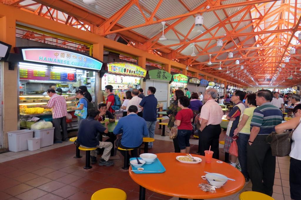 Budaya Hawker Center Singapura