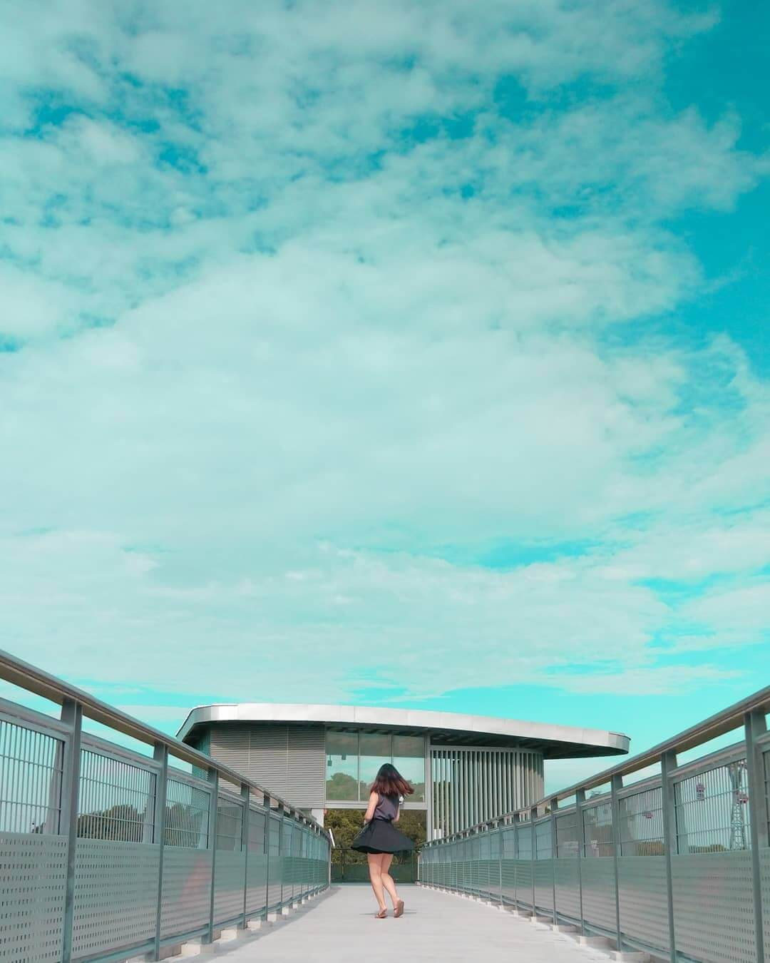 Skywalk in Singapore