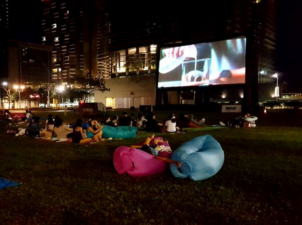 Outdoor Cinema in Singapore